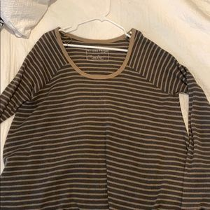 Free people thick long sleeve shirt